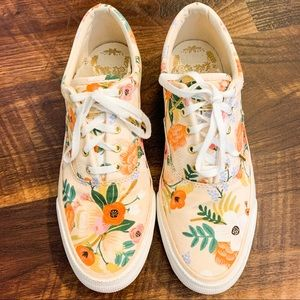 Rifle Paper Co Floral Keds Sneakers
